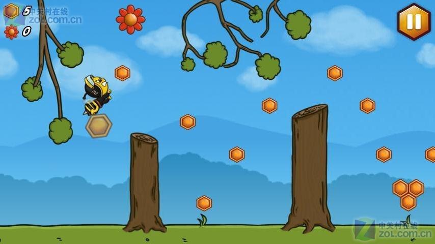 比较精细的游戏图形界面;  - 总共15个森林世界的;  - 下面将要