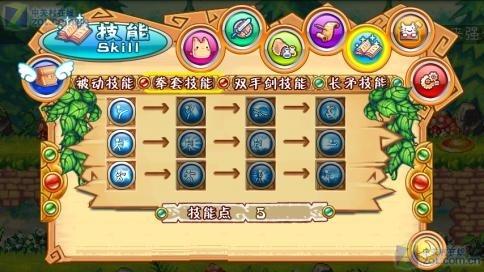 彩虹岛是盛大游戏开发的首款android平台2d横版卷轴