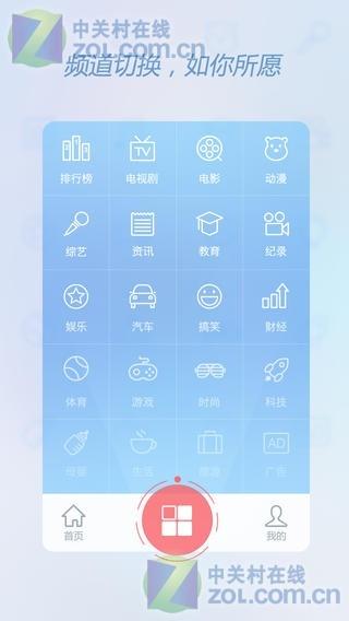 手机端分类页psd素材